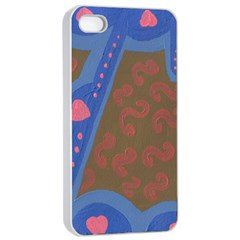 Hair Salon Floor Apple Iphone 4/4s Seamless Case (white) by snowwhitegirl