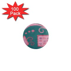 A Pink Dream 1  Mini Magnets (100 Pack)