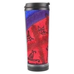 Red Egg Travel Tumbler by snowwhitegirl