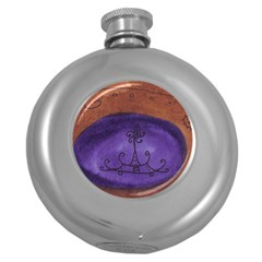 House Egg Round Hip Flask (5 Oz) by snowwhitegirl
