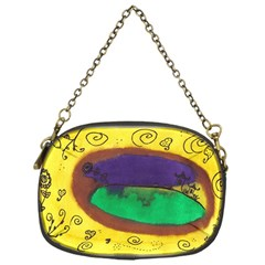 Landscape Egg Chain Purses (one Side)