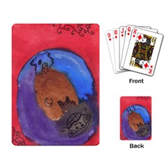 Creepy Castle Playing Card by snowwhitegirl