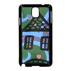 Smiling House Samsung Galaxy Note 3 Neo Hardshell Case (black)