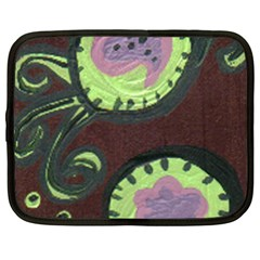 Cute Crab Netbook Case (xxl)  by snowwhitegirl