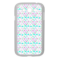 Hearts Butterflies White 1200 Samsung Galaxy Grand Duos I9082 Case (white) by snowwhitegirl