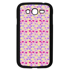 Hearts Butterflies Pink 1200 Samsung Galaxy Grand Duos I9082 Case (black) by snowwhitegirl