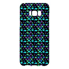 Hearts Butterflies Black Samsung Galaxy S8 Plus Hardshell Case