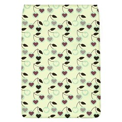 Heart Cherries Mint Flap Covers (l)  by snowwhitegirl