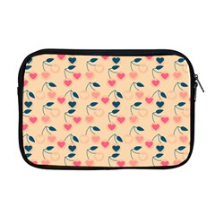 Heart Cherries Cream Apple Macbook Pro 17  Zipper Case by snowwhitegirl