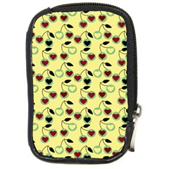 Yellow Heart Cherries Compact Camera Cases by snowwhitegirl