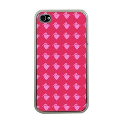 Punk Heart Pink Apple Iphone 4 Case (clear) by snowwhitegirl