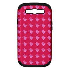 Punk Heart Pink Samsung Galaxy S Iii Hardshell Case (pc+silicone) by snowwhitegirl