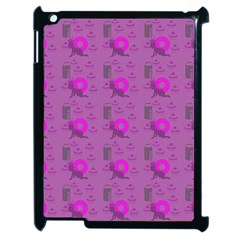 Punk Baby Violet Apple Ipad 2 Case (black) by snowwhitegirl