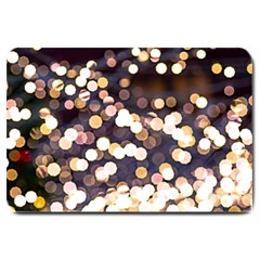 Bright Light Pattern Large Doormat  by FunnyCow