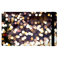 Bright Light Pattern Apple Ipad 3/4 Flip Case by FunnyCow