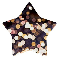 Bright Light Pattern Ornament (star) by FunnyCow