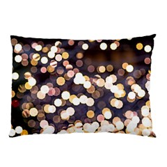 Bright Light Pattern Pillow Case by FunnyCow