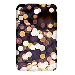Bright Light Pattern Samsung Galaxy Tab 3 (7 ) P3200 Hardshell Case  by FunnyCow