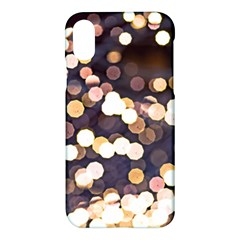 Bright Light Pattern Apple Iphone X Hardshell Case by FunnyCow