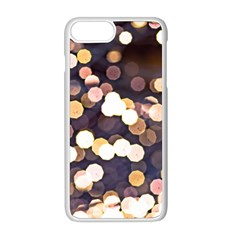 Bright Light Pattern Apple Iphone 8 Plus Seamless Case (white) by FunnyCow