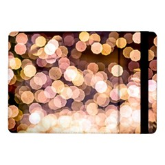 Warm Color Brown Light Pattern Samsung Galaxy Tab Pro 10 1  Flip Case by FunnyCow