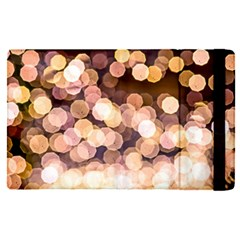 Warm Color Brown Light Pattern Apple Ipad Pro 12 9   Flip Case by FunnyCow
