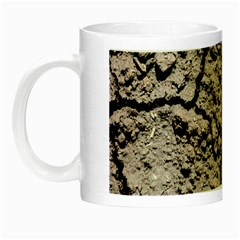 Earth  Dark Soil With Cracks Night Luminous Mugs by FunnyCow