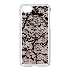 Earth  Dark Soil With Cracks Apple Iphone 8 Seamless Case (white) by FunnyCow