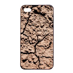 Earth  Light Brown Wet Soil Apple Iphone 4/4s Seamless Case (black) by FunnyCow