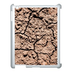 Earth  Light Brown Wet Soil Apple Ipad 3/4 Case (white) by FunnyCow