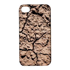 Earth  Light Brown Wet Soil Apple Iphone 4/4s Hardshell Case With Stand by FunnyCow