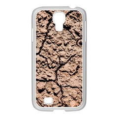 Earth  Light Brown Wet Soil Samsung Galaxy S4 I9500/ I9505 Case (white) by FunnyCow