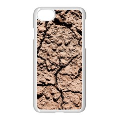Earth  Light Brown Wet Soil Apple Iphone 8 Seamless Case (white) by FunnyCow
