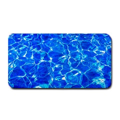 Blue Clear Water Texture Medium Bar Mats by FunnyCow