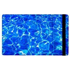 Blue Clear Water Texture Apple Ipad 3/4 Flip Case by FunnyCow