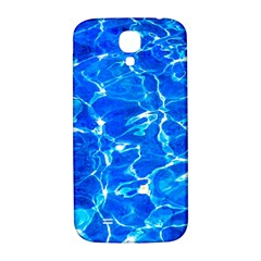 Blue Clear Water Texture Samsung Galaxy S4 I9500/i9505  Hardshell Back Case by FunnyCow
