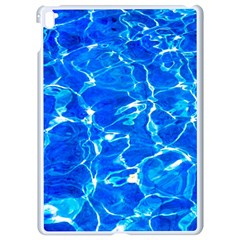 Blue Clear Water Texture Apple Ipad Pro 9 7   White Seamless Case by FunnyCow