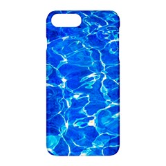 Blue Clear Water Texture Apple Iphone 8 Plus Hardshell Case by FunnyCow