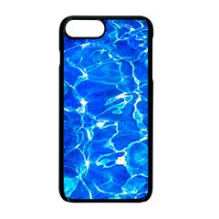 Blue Clear Water Texture Apple Iphone 8 Plus Seamless Case (black) by FunnyCow