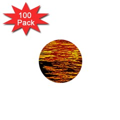 Liquid Gold 1  Mini Buttons (100 Pack)  by FunnyCow