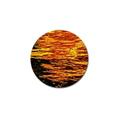 Liquid Gold Golf Ball Marker (4 Pack) by FunnyCow
