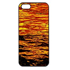 Liquid Gold Apple Iphone 5 Seamless Case (black) by FunnyCow
