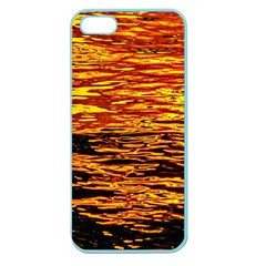 Liquid Gold Apple Seamless Iphone 5 Case (color) by FunnyCow