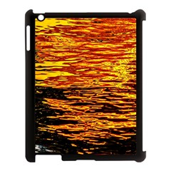 Liquid Gold Apple Ipad 3/4 Case (black) by FunnyCow