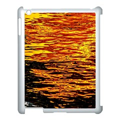 Liquid Gold Apple Ipad 3/4 Case (white) by FunnyCow