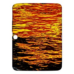 Liquid Gold Samsung Galaxy Tab 3 (10 1 ) P5200 Hardshell Case  by FunnyCow