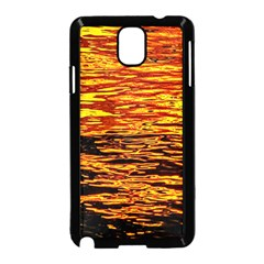 Liquid Gold Samsung Galaxy Note 3 Neo Hardshell Case (black) by FunnyCow