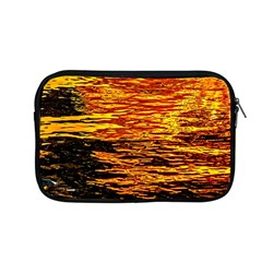 Liquid Gold Apple Macbook Pro 13  Zipper Case by FunnyCow