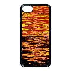 Liquid Gold Apple Iphone 8 Seamless Case (black) by FunnyCow