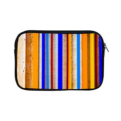 Colorful Wood And Metal Pattern Apple Ipad Mini Zipper Cases by FunnyCow